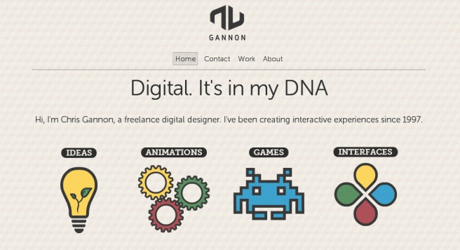 Gannon.TV - Interactive Design