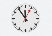 HTML5 iOS Swiss Clock