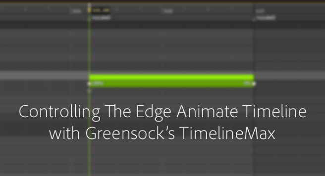 Controlling The Edge Animate Timeline With Greensock TimlineMax