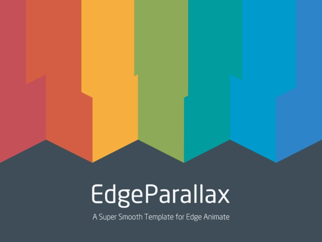 EdgeParallax: A Super Smooth Parallax Template for Edge Animate