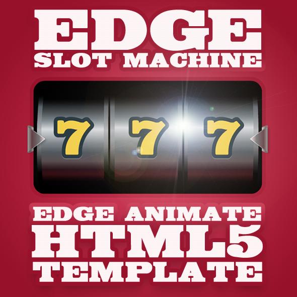 EdgeSlotMachine - Slot/Fruit machine Edge Animate template