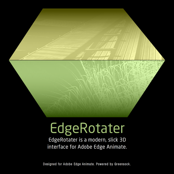 EdgeRotater - a 3D Interface for Edge Animate