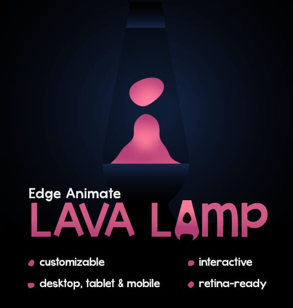 Adobe Edge Animate Lava Lamp on CodeCanyon